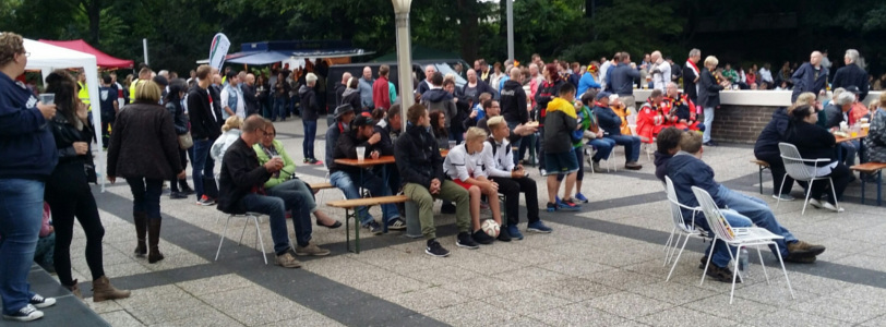 2. Juli 2016 - Public Viewing im Kurpark